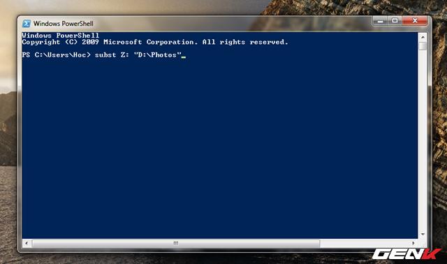 Hô Biến Thư Mục Thành Ổ Đĩa Ảo Trên Windows 10_4